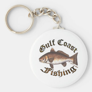 GulfCoast Collection by FishTs.com Keychains