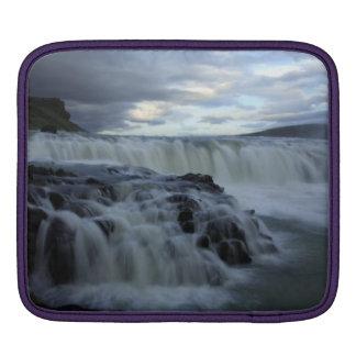 Gulfoss Waterfall, Iceland iPad Sleeves
