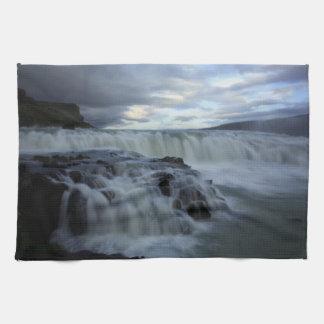 Gulfoss Waterfall, Iceland Towels