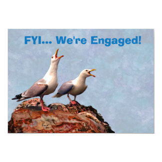 Gull Announcement We're Engaged
