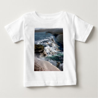 Gull Foss Waterfall Iceland Baby T-Shirt