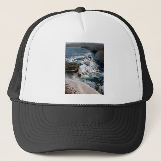 Gull Foss Waterfall Iceland Trucker Hat