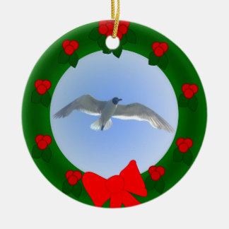 Gull in Flight 2 Ornament
