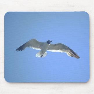 Gull in Flight Mousepad