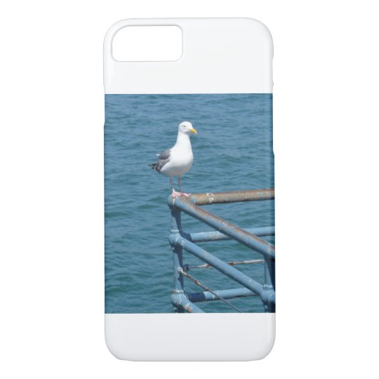 Gull on Railing iPhone 8/7 Case
