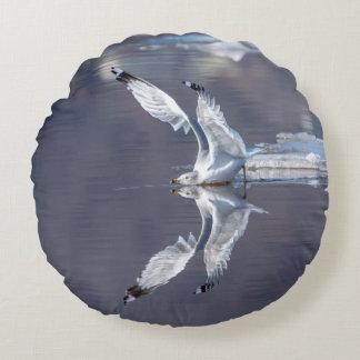Gull Reflections Round Cushion