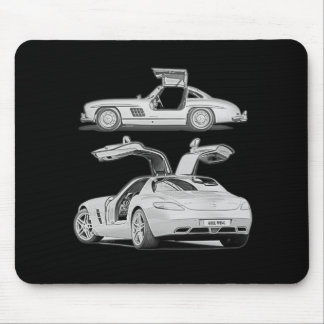 Gull Wing Then and Now Mouse Mat