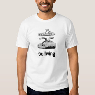 Gull Wing Then and Now Tshirt