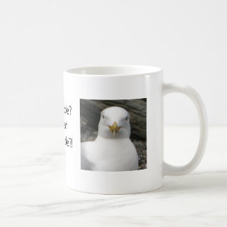 Gull with attitude basic white mug