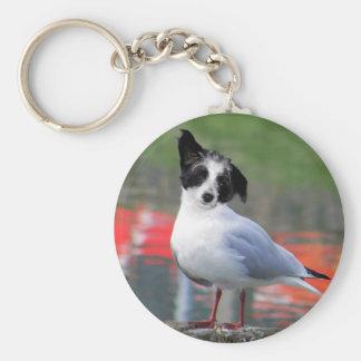 Gulldog Basic Round Button Key Ring