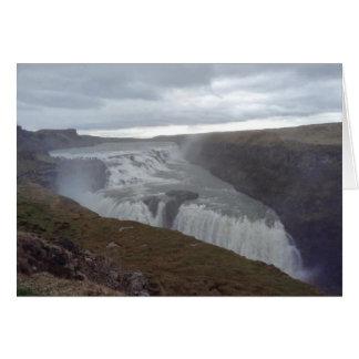 Gullfoss, Iceland Card