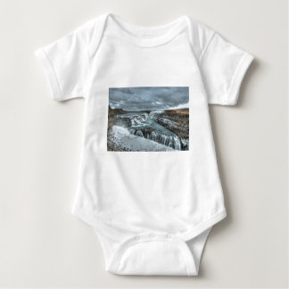 Gullfoss Waterfall, Iceland Baby Bodysuit