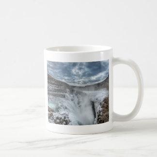Gullfoss Waterfall, Iceland Coffee Mug