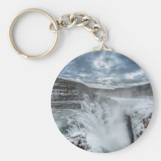 Gullfoss Waterfall, Iceland Key Ring