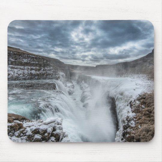 Gullfoss Waterfall, Iceland Mouse Mat