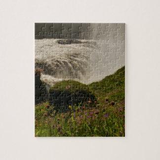 Gullfoss Waterfall Iceland Puzzle