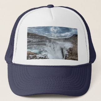 Gullfoss Waterfall, Iceland Trucker Hat