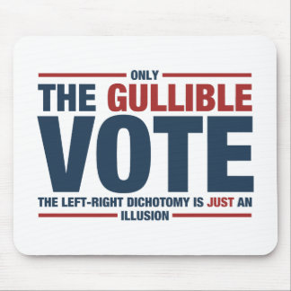 Gullible Vote Mousepad
