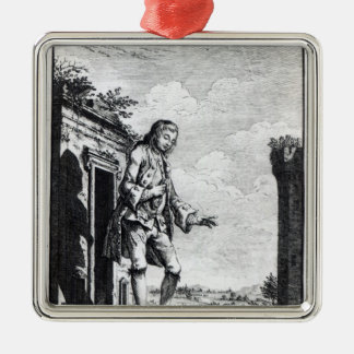 Gulliver amongst the Lilliputians Christmas Ornament