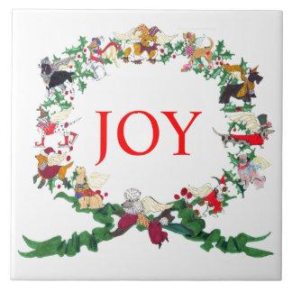 Gullivers Angels Ceramic Holiday Tile Trivet