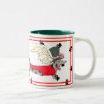 Gulliver's Angels Dapple Dachshund Pawprint Mug