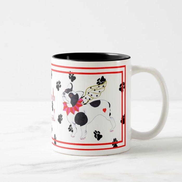Gulliver's Angels French Bulldog Mug
