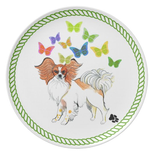 Gulliver's Angels Papillon Dinner Plate