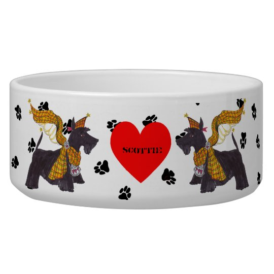 Gullivers Angels Scottie Dog Bowl