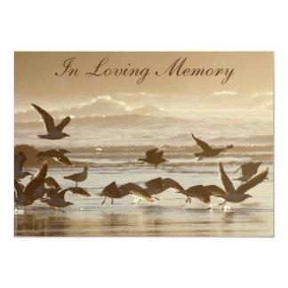 Gulls Taking Flight Memorial Service Announcement