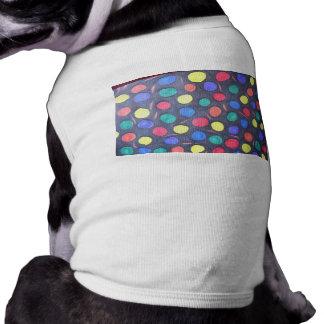 Gum-balls in Space Sleeveless Dog Shirt