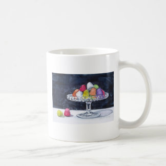 Gum Drops Candy in Bowl Mug