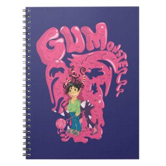 Gum Monsterrr Spiral Photo Notebook