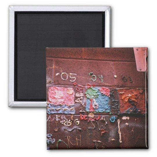 Gum Mural Square Magnet