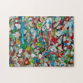 Gum Wall Puzzle