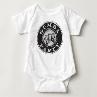 Gumba Party -Black Logo Baby Bodysuit