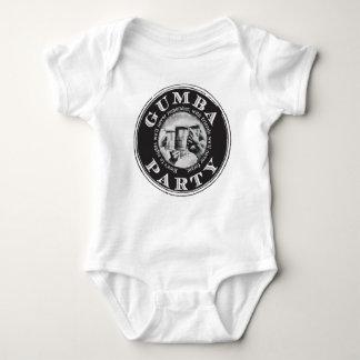 Gumba Party -Black Logo Baby Bodysuit