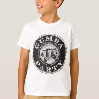 Gumba Party -Black Logo T-Shirt