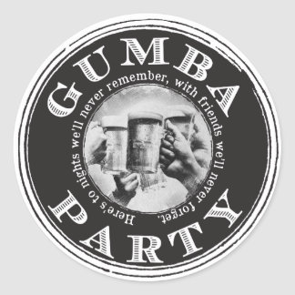 Gumba Party Stickers