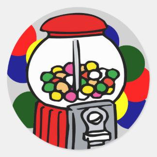 Gumball Fun Round Sticker