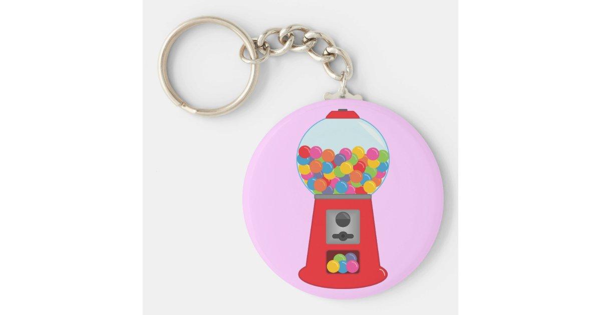 gumball machine keychain