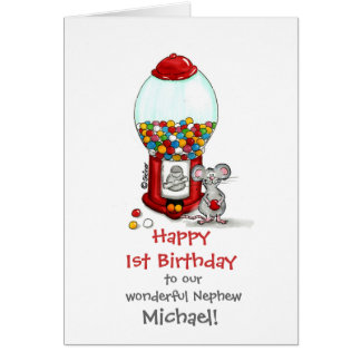 Gumball Machine - Kids Design by send2smiles Greeting Card