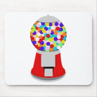 Gumball machine mousepad