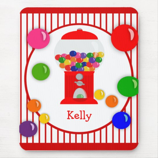 Gumball Machine Personalised Mousepad