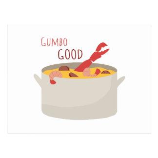 Gumbo Good Postcard