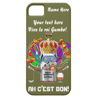 Gumbo King Mardi Gras View Hints please iPhone 5 Cover