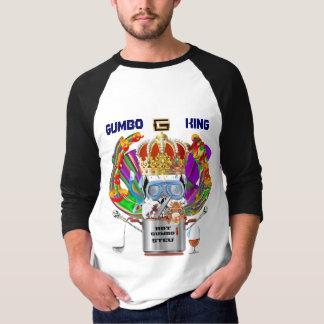 Gumbo King Men Light View Hints please Tee Shirts