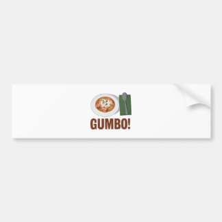 Gumbo Meal Bumper Sticker
