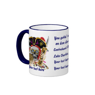 Gumbo Pirate Dual logo All Styles View Hints Coffee Mug
