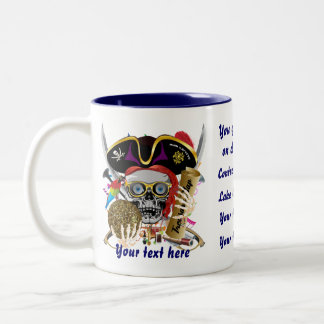 Gumbo Pirate Dual logo All Styles View Hints Coffee Mugs