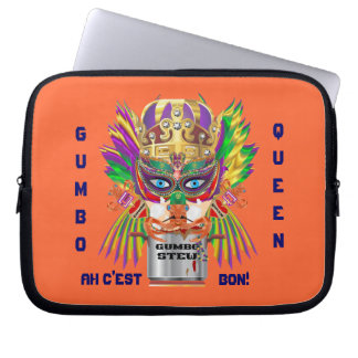 Gumbo Queen Carrying Case for ip-5  ipad View Hint Laptop Sleeves